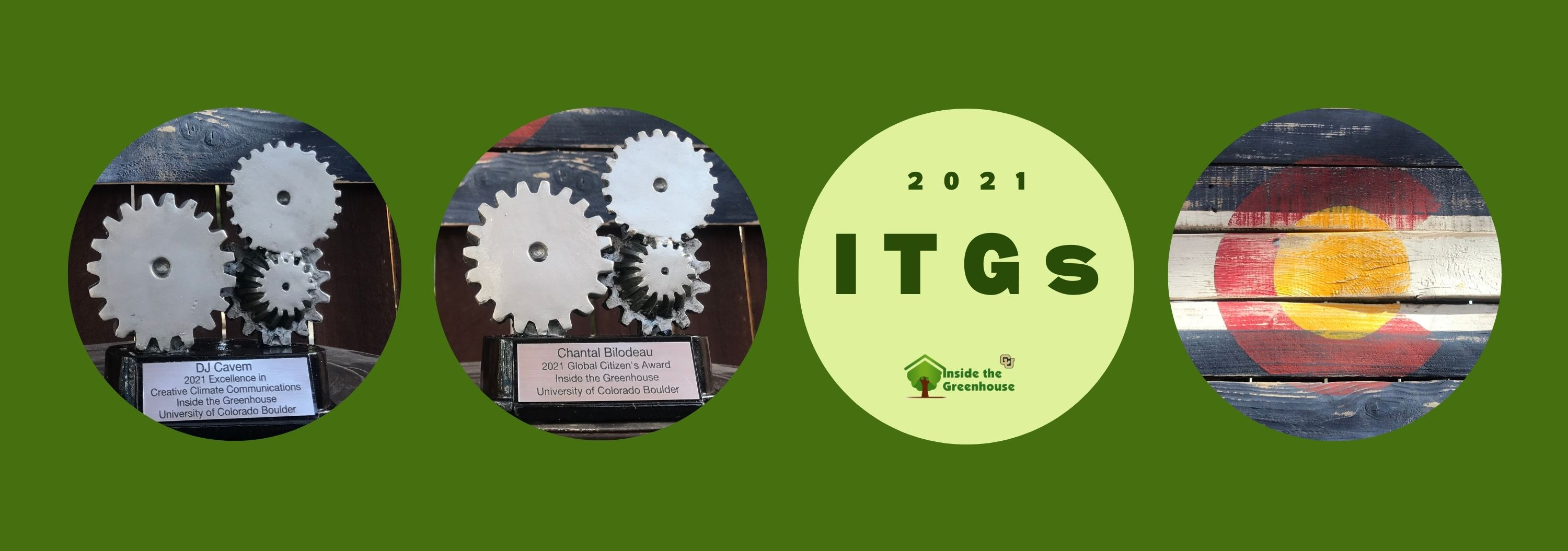 Annual ITGs (Inside the Greenhouse Award) Winners Banner