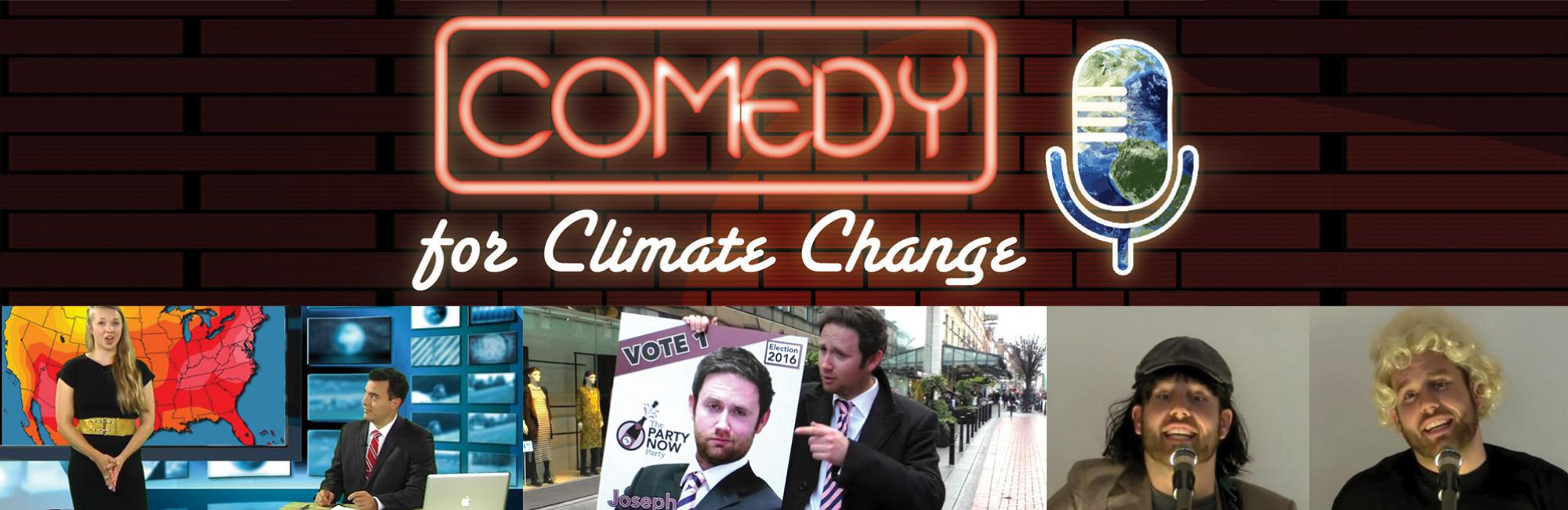 Winners Announced for Inside the Greenhouse Comedy & Climate Change Video Competition