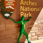 Arches National Park, Utah. Photo: Grace Kendzirski.