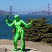 San Francisco, California. Photo: Peter Osnes.